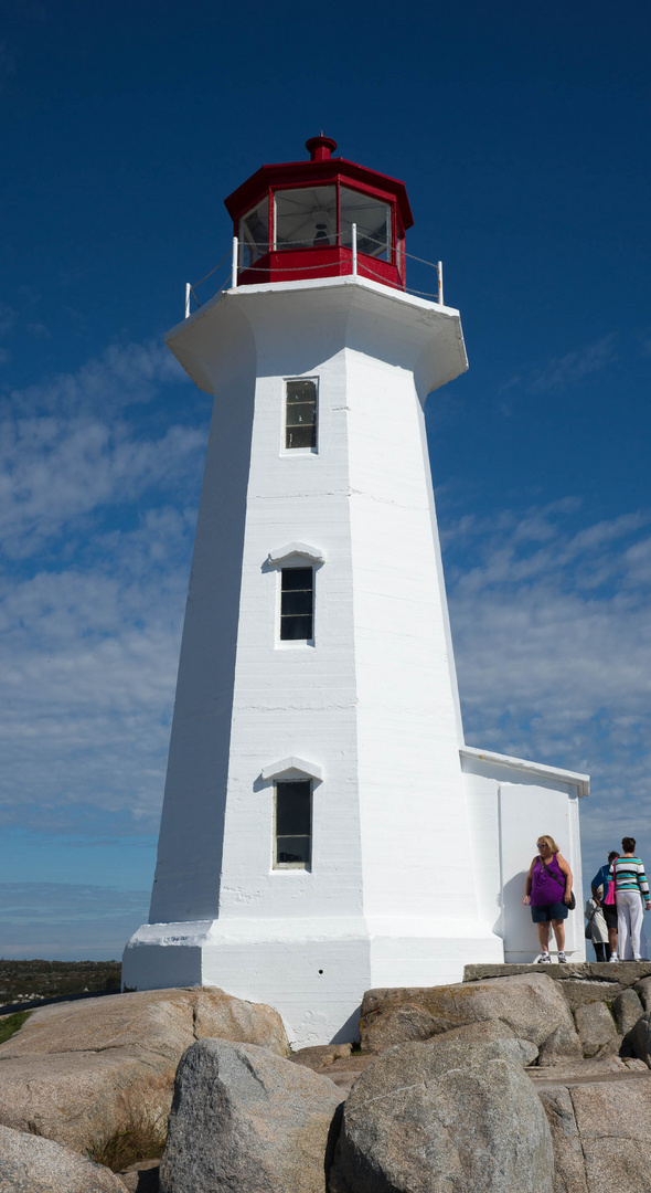 Leuchtturm bei Peggy Cove, Halifax