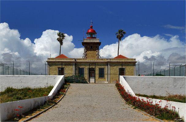 Leuchtturm bei Ponta da Piedade