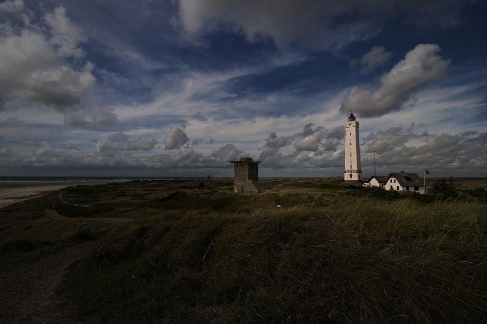 Leuchtturm ( Blavand )