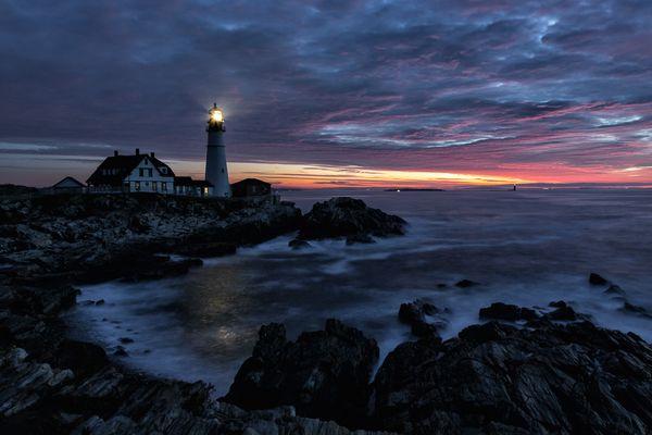 Leuchtturm Cape Elizabeth