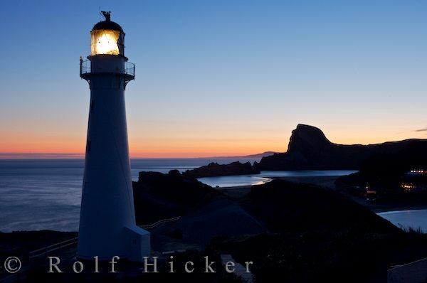 Leuchtturm Castlepoint Neuseeland