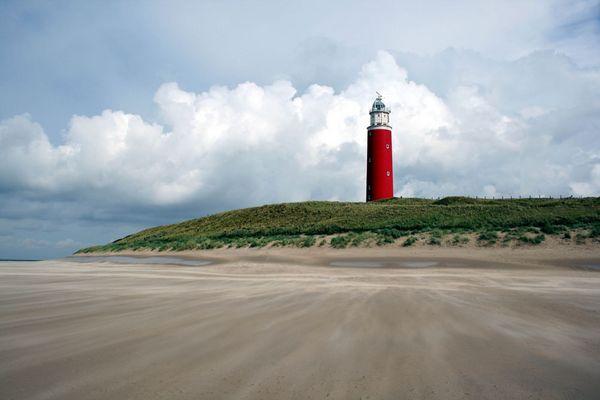 Leuchtturm der Nordseeinsel Texel