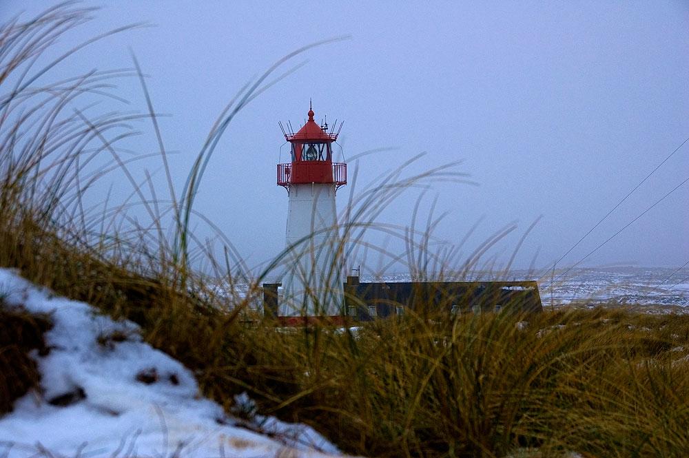 Leuchtturm Ellenbogen-West auf Sylt