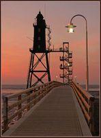 Leuchtturm Eversand-Oberfeuer #3