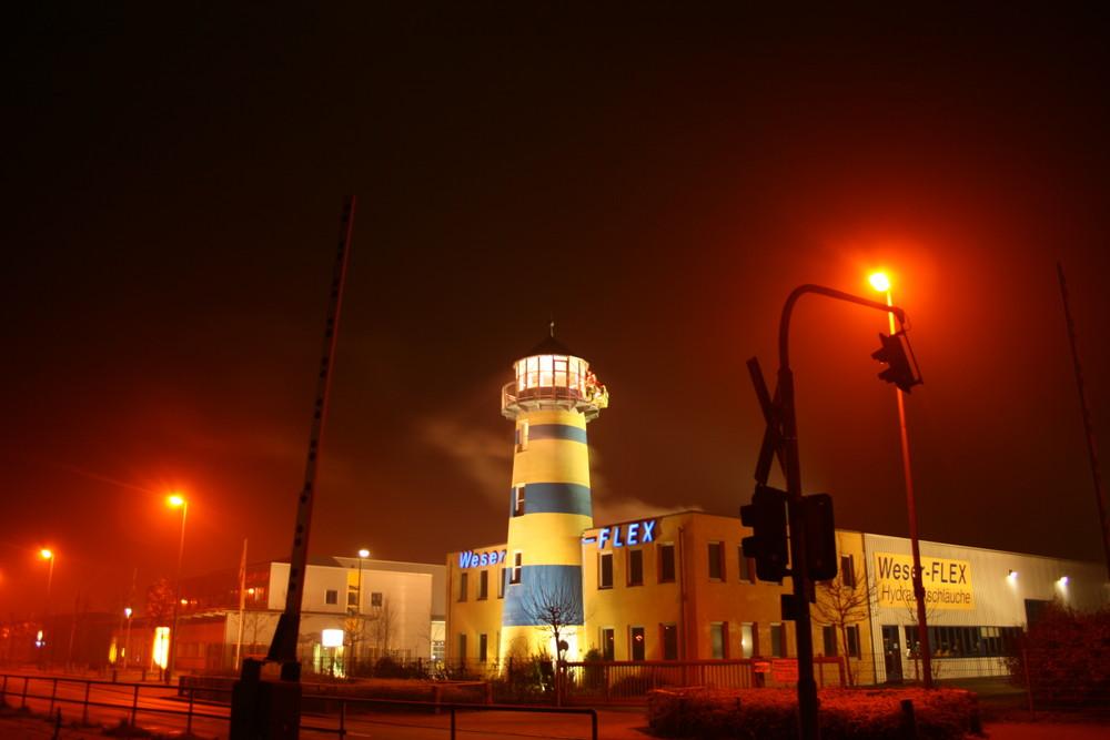 Leuchtturm Gewerbepark Hansaline
