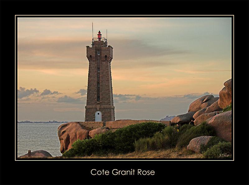 Leuchtturm Granit Rose