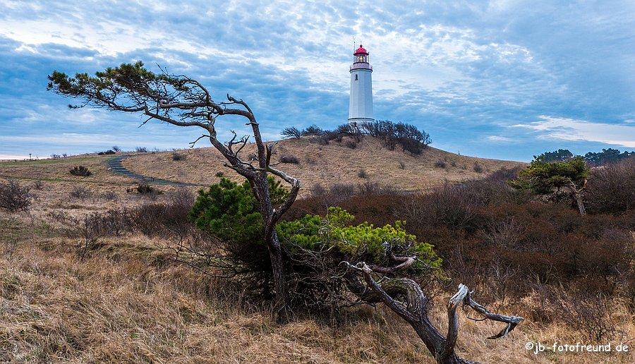 Leuchtturm II von Hiddensee