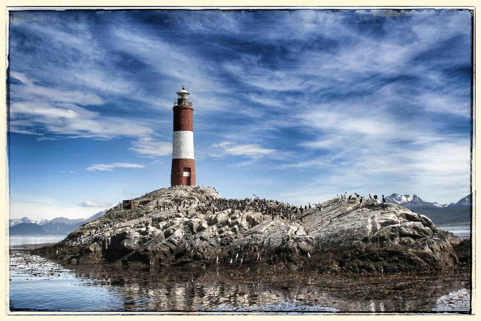 Leuchtturm im Beaglekanal