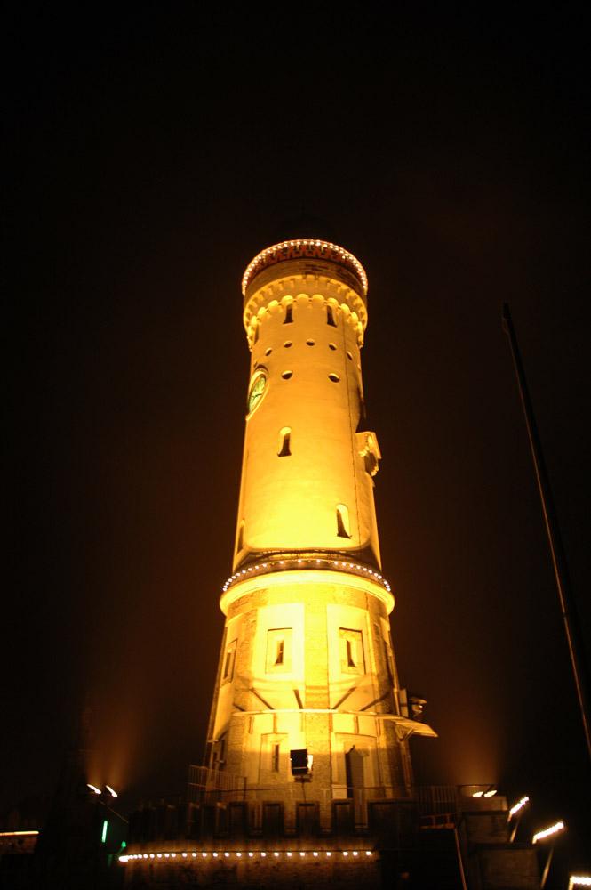 Leuchtturm im Hafen von Lindau