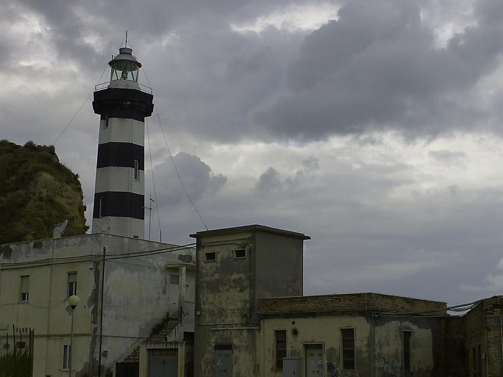 Leuchtturm im Hafen Von Ortona