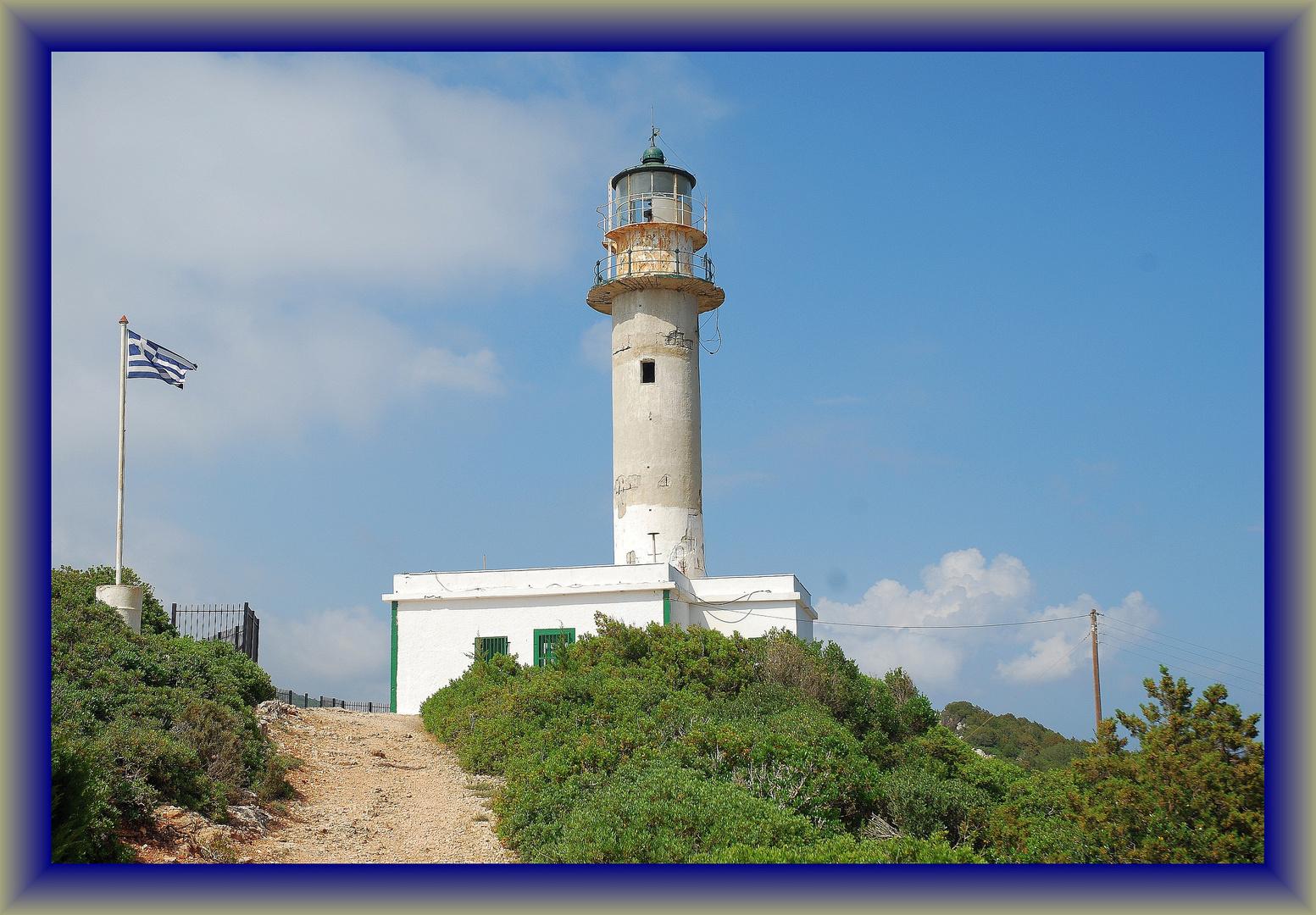 Leuchtturm im Süden Lefkadas