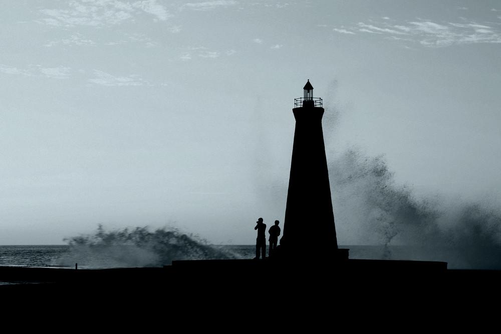 Leuchtturm in Bajamar, Teneriffa