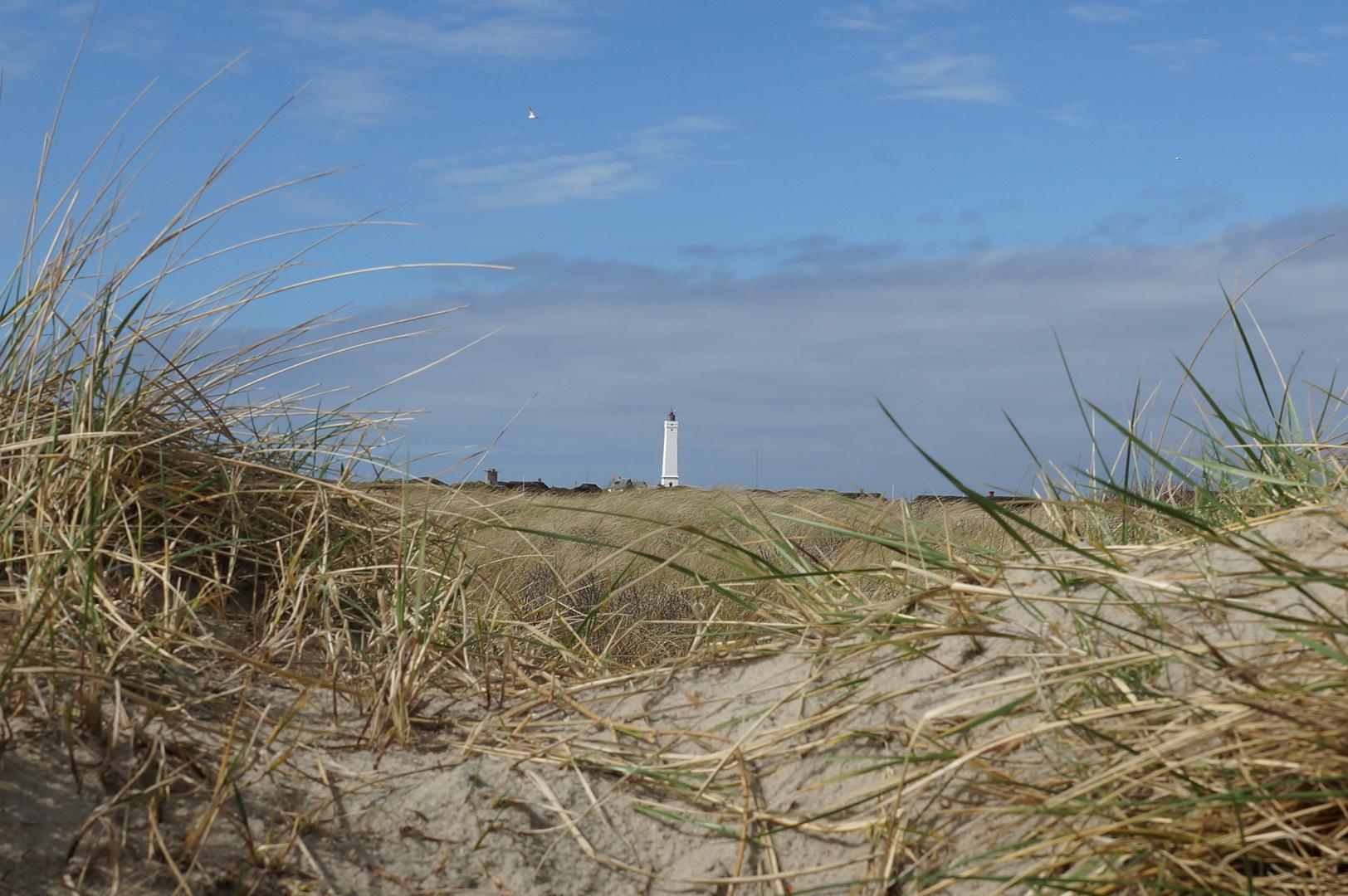 Leuchtturm in Blavand/Dänemark