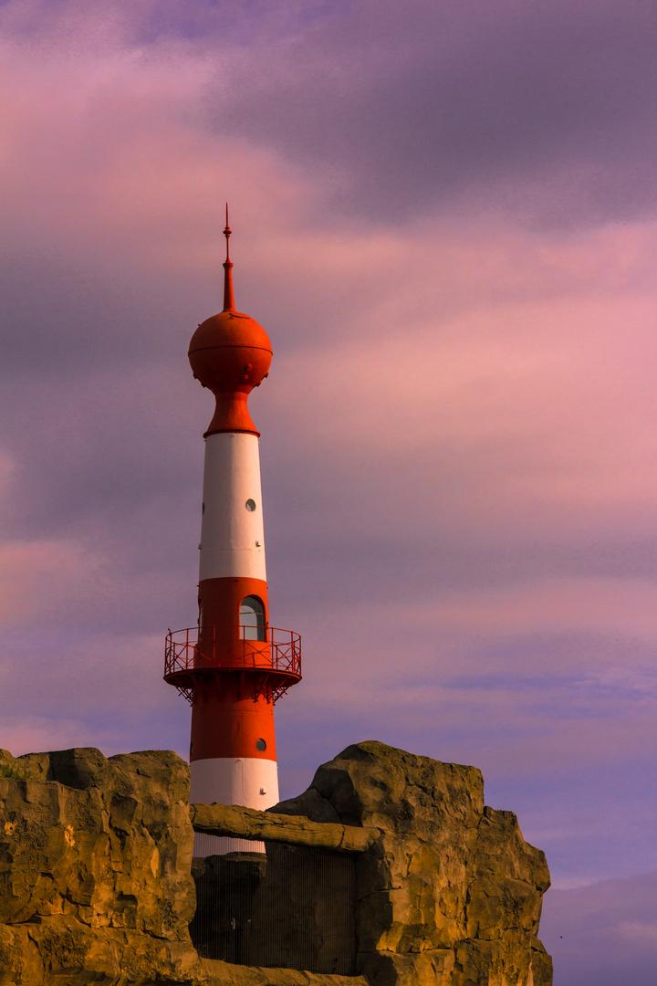 Leuchtturm in der Abendsonne in Bremerhaven I