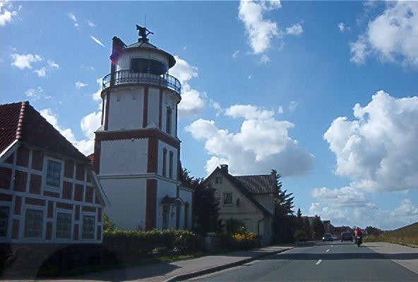 Leuchtturm in Jork-Borstel