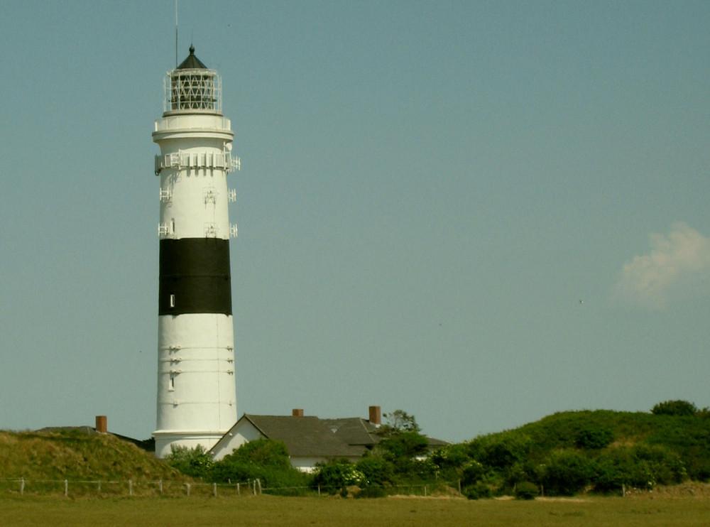 Leuchtturm in Kampen auf der Insel Sylt