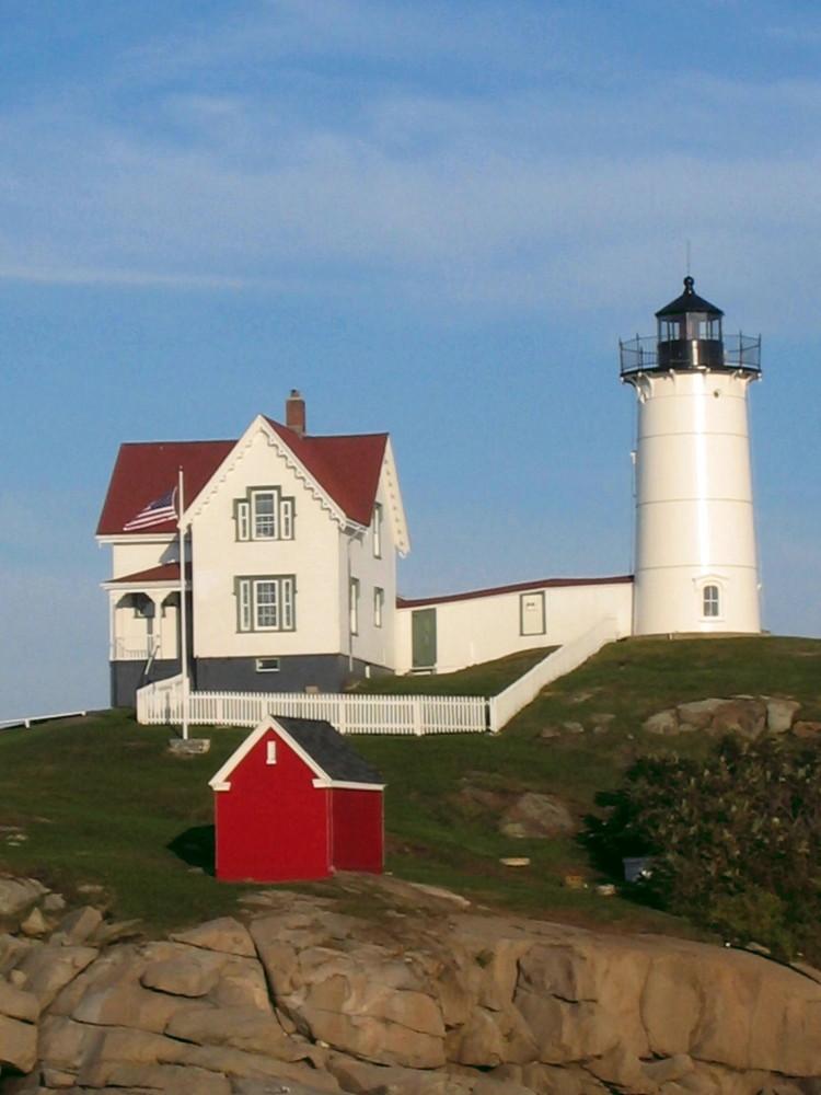 Leuchtturm in Maine