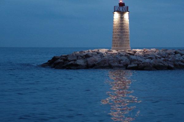 Leuchtturm in Monaco
