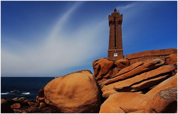 Leuchtturm in Ploumanac'h