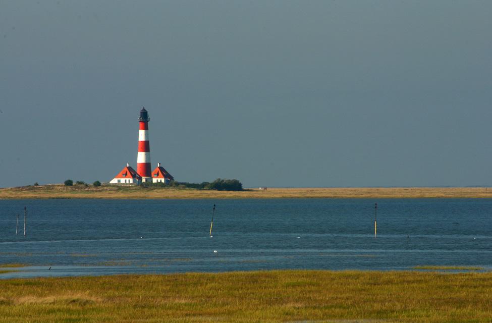 Leuchtturm in Westerhever - Nordfriesland