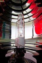 Leuchtturm List-West - Optik und Leuchtfeuereinrichtung