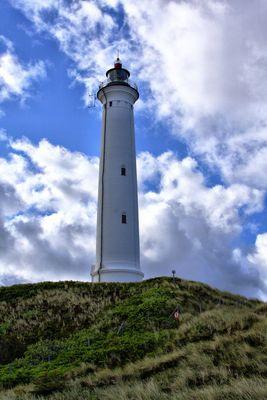 Leuchtturm Lyngvig Fyr in Dänemark