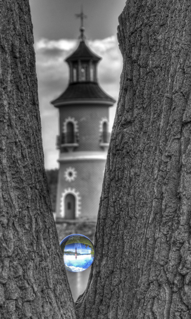 Leuchtturm Moritzburg 2