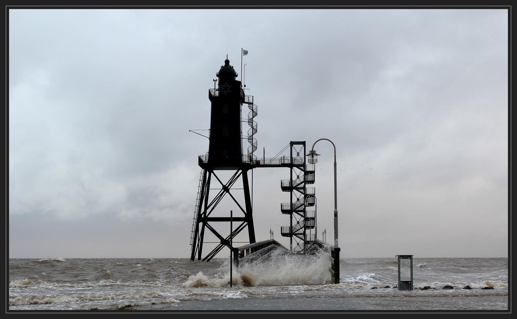 """Leuchtturm """"Obereversand"""""""