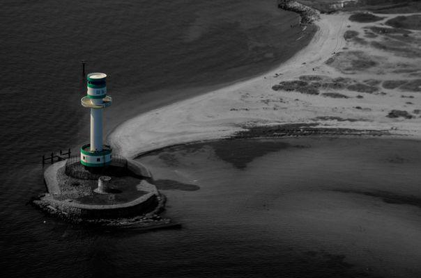 Leuchtturm Schilksee aus 1000 ft