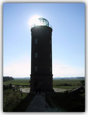 "Leuchtturm - ""solar powered"""