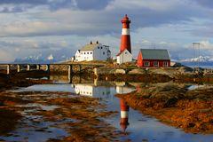 Leuchtturm Tranoy Norwegen