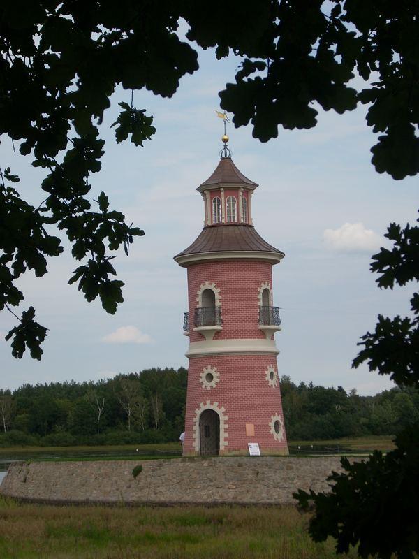 Leuchtturm vom August dem Starken