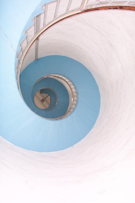 Leuchtturm von Innen...