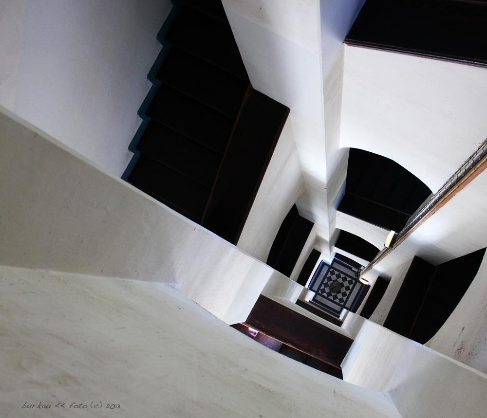 Leuchtturm - Von oben nach unten
