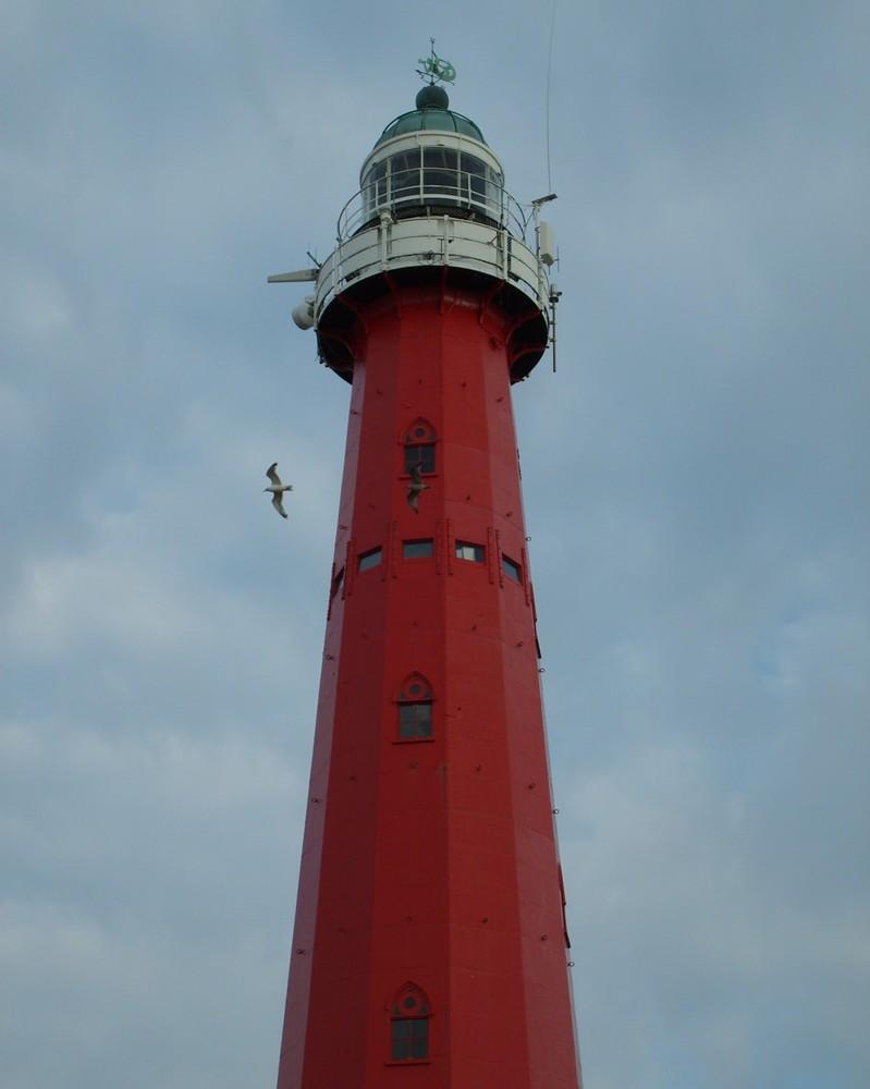 Leuchtturm von Scheveningen, Holland