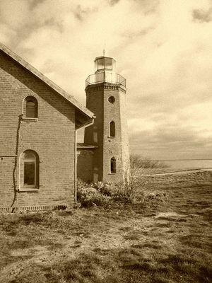 Leuchtturm von Vente