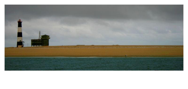 Leuchtturm vor Walvish Bay