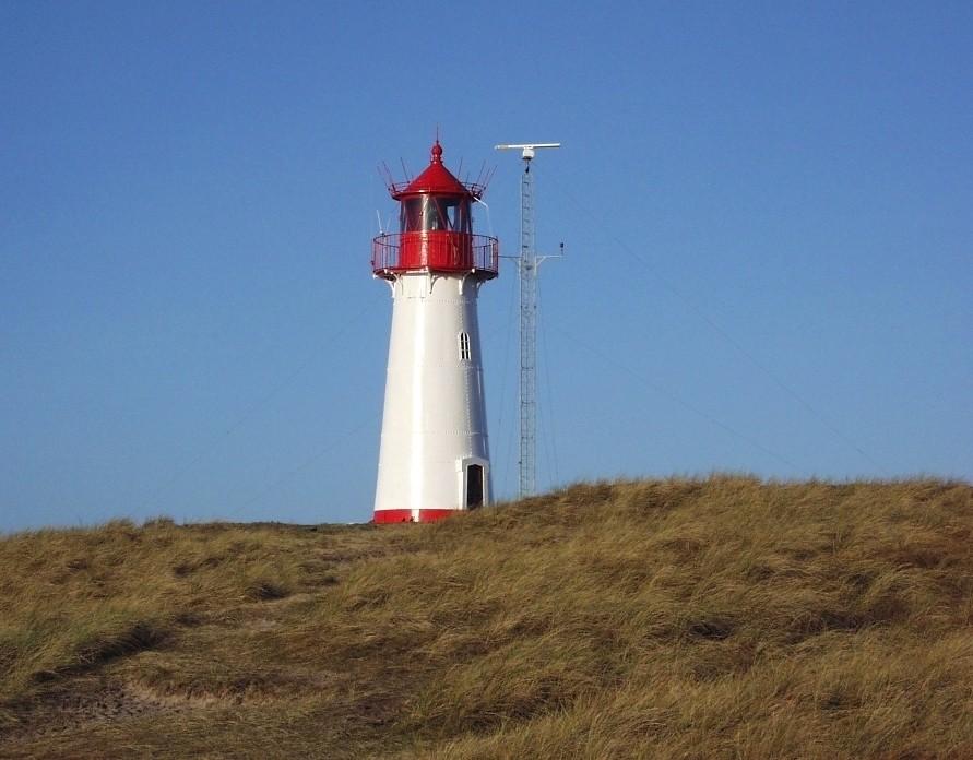 Leuchtturm Westellenbogen  Insel Sylt
