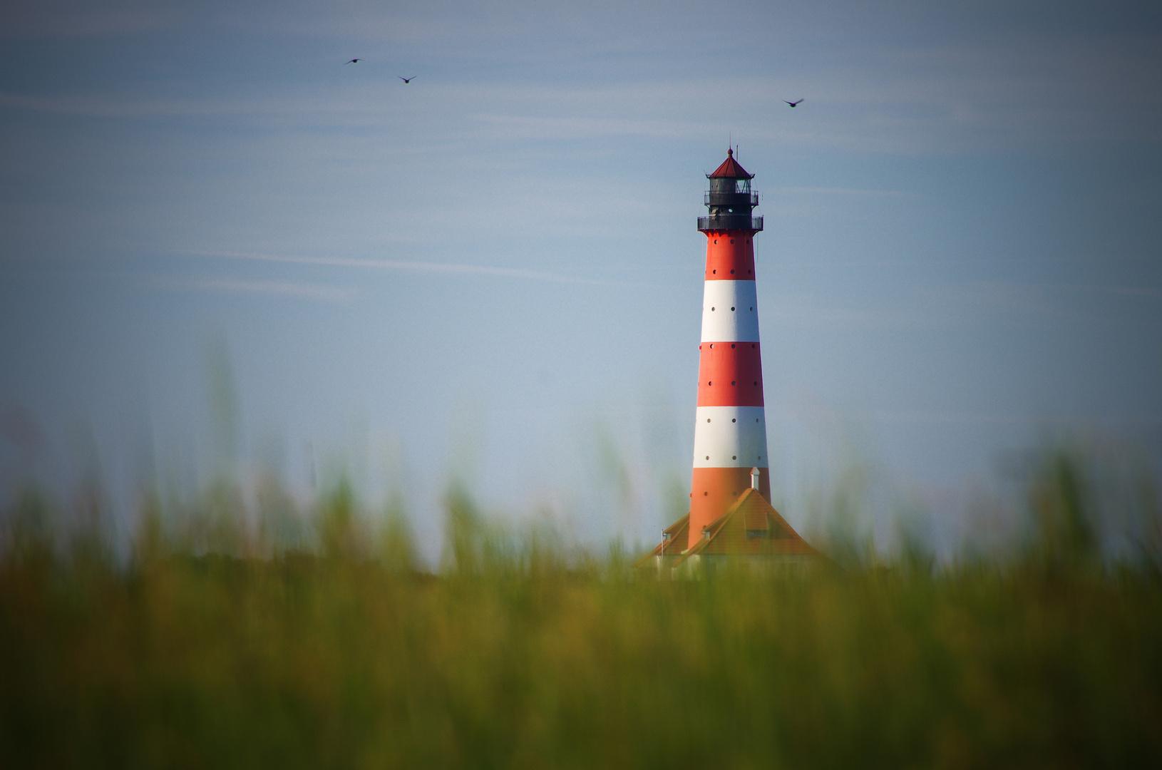Leuchtturm Westerhever - 1