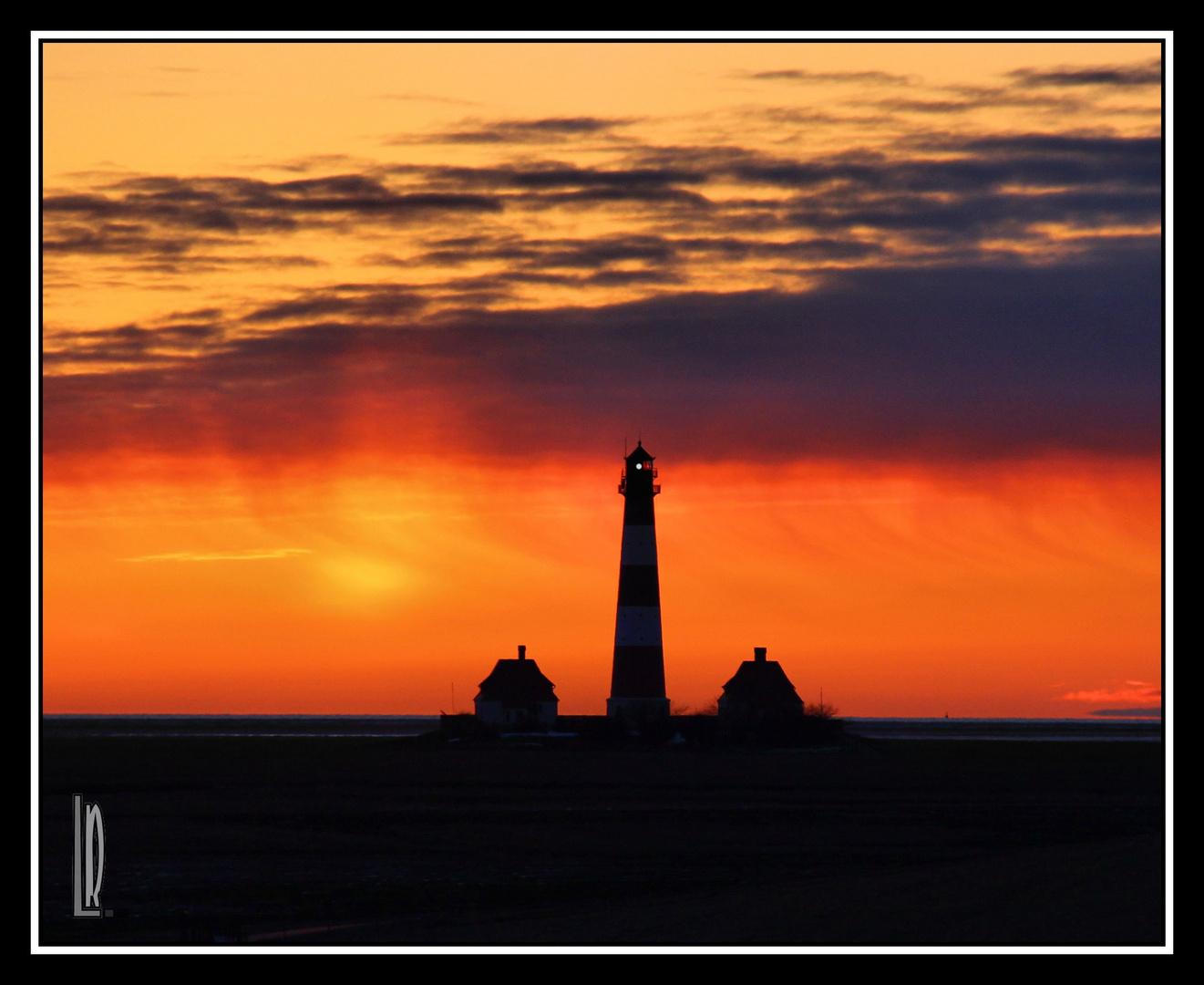 Leuchtturm Westerhever.