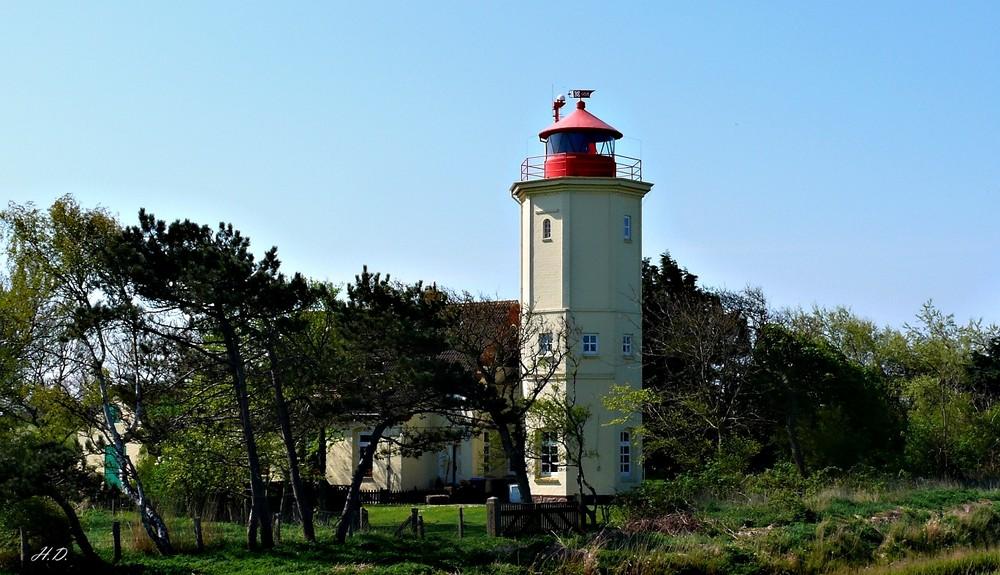 Leuchtturm Westermarkelsdorf/Fehmarn