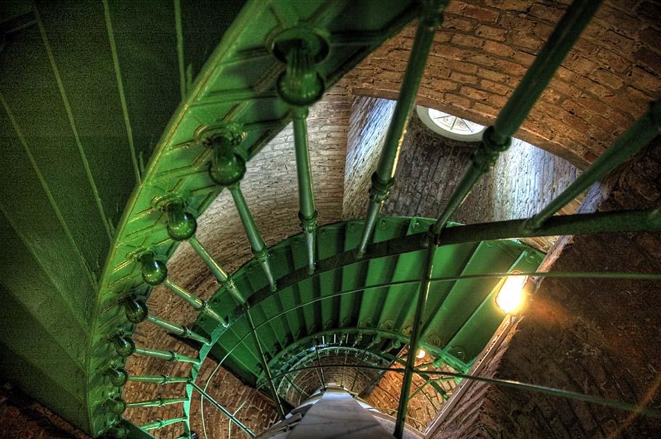 Leuchtturmtreppe