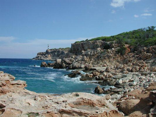 Leuchturm auf Ibiza