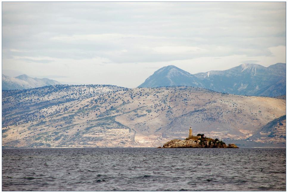 Leuchturm im Ionischen Meer