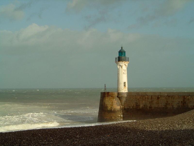 Leuchturm in der Normandie