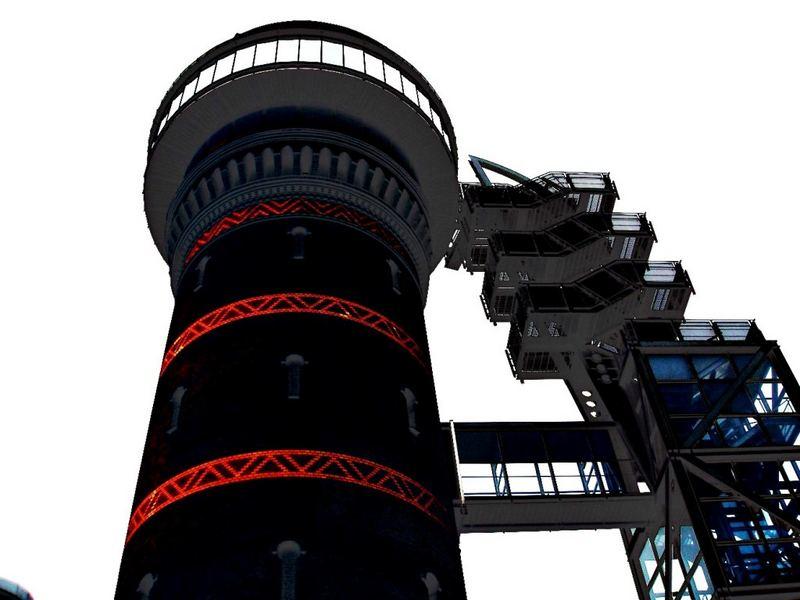 Leuchtwasserturm