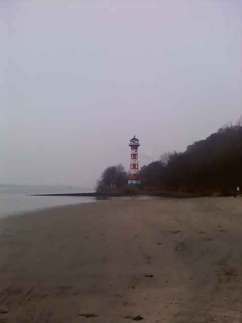 Leutturm an der Elbe