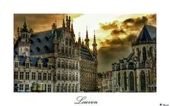 Leuven am Abend