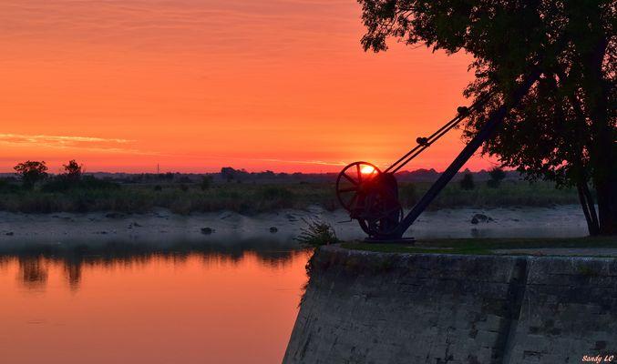 Levant sur la Charente