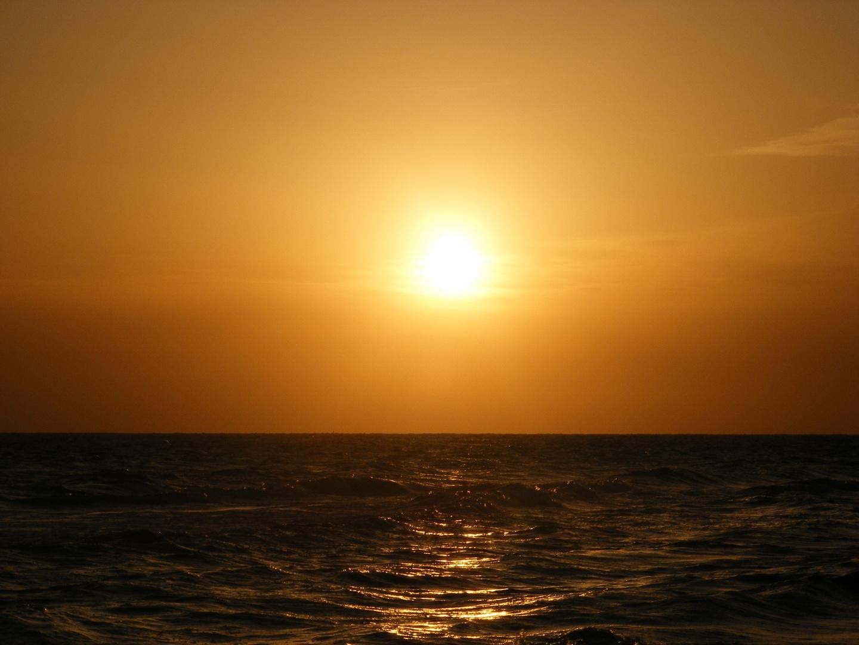 Levé du soleil à Raf Raf